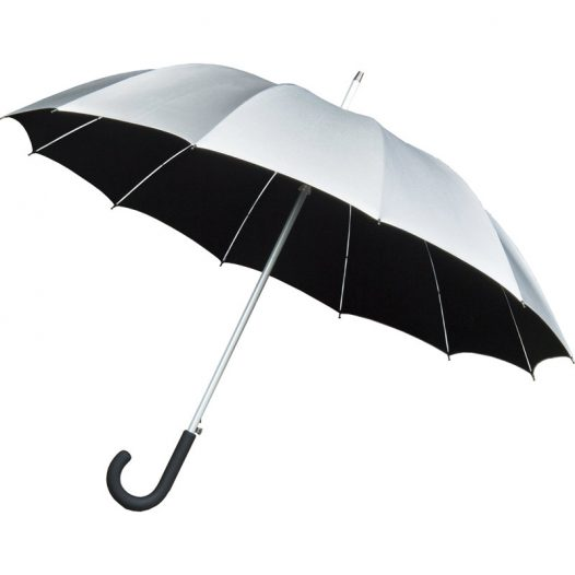Silver UV proof umbrella - Cambridge Walker Umbrella
