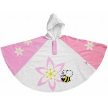 Childs Rain Poncho - Orchid