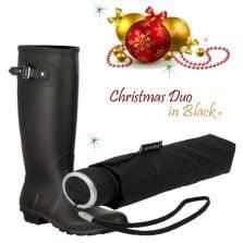 Black Rainwear Gift Set