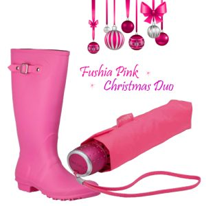 Gift Set Duo in Fushia Pink