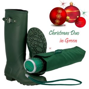 Gift Set Duo in Green