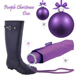 Gift Set Duo in Purple