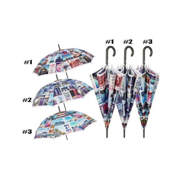 Perletti - Cityscape Walking Umbrella