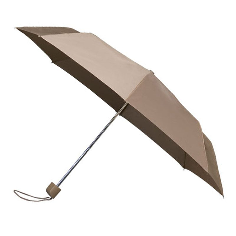 Colourbox Beige Compact Umbrella