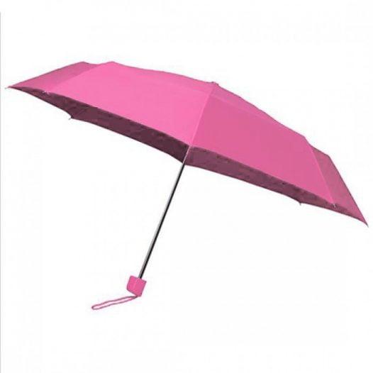 Colourbox Pink Compact Umbrella