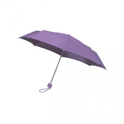 Colourbox Purple Compact Umbrella