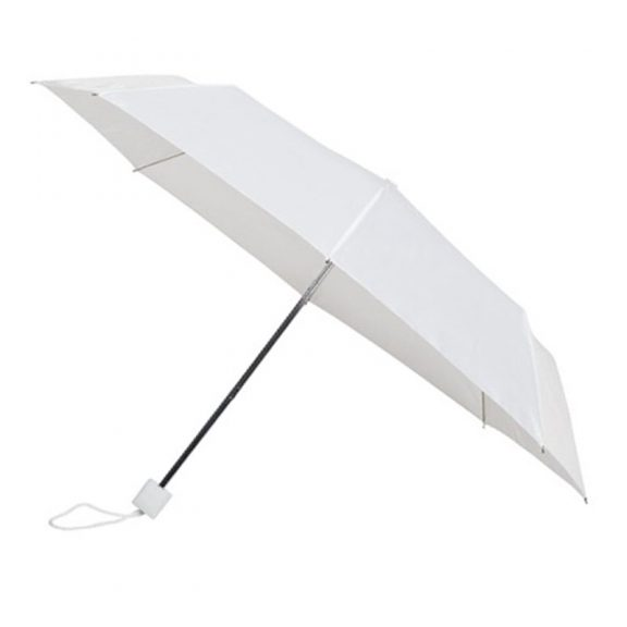 Colourbox White Compact Umbrella
