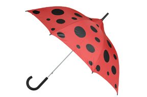 Young Ladies ladybird Umbrella - Ladybug Umbrella