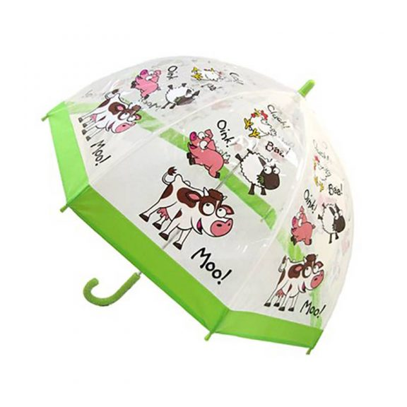 Children's PVC Farmyard Umbrella