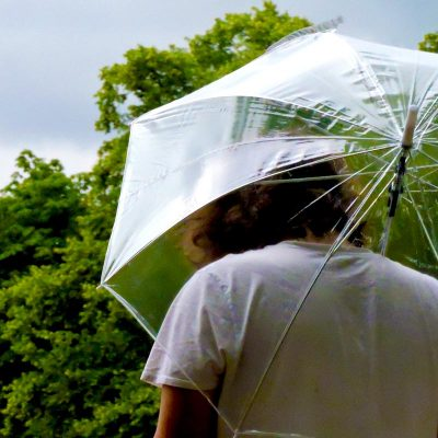 Clear Umbrella keeps you covered