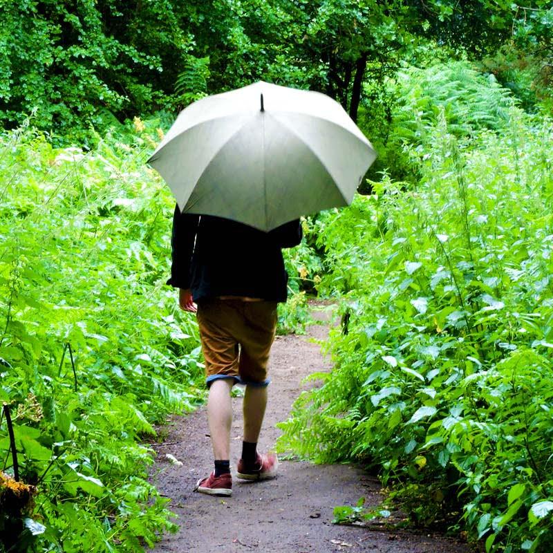 Mens Walking Umbrella walking