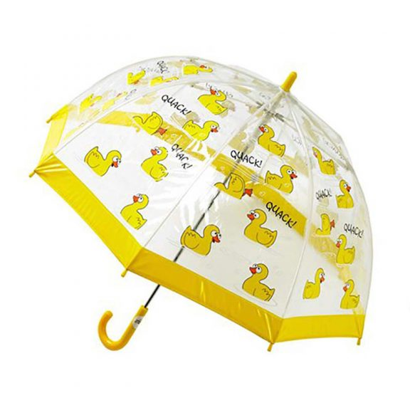 Children's PVC Duck Umbrella