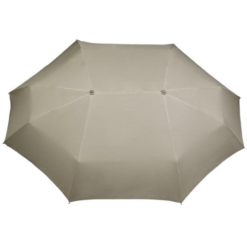 Beige Duo Umbrella