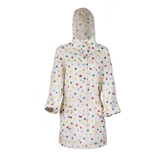 Emma B Spots Raincoat