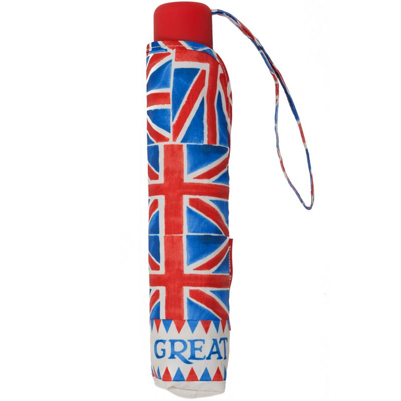 Telescopic Union Jack Umbrella