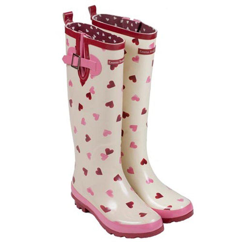 Emma B Heart Wellington Boots