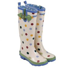Emma B Spotted Wellington Boots