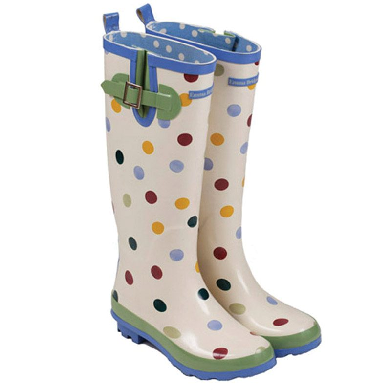 Emma B Spotted Wellington Boots