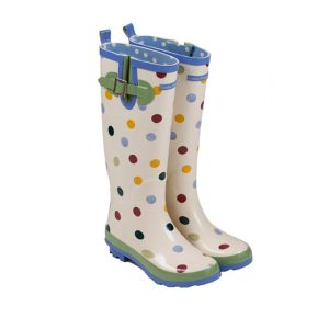 Emma B Wellies Spots cutout