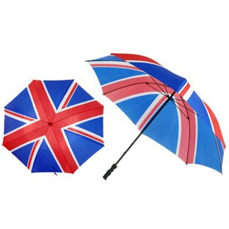 Union Jack Golf Umbrella / Flag Umbrellas
