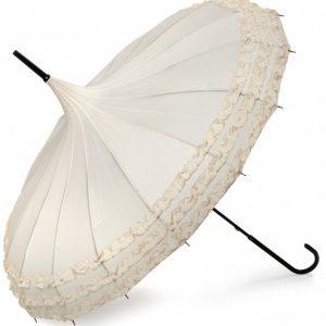 Phoebe - Ivory Pagoda Umbrella