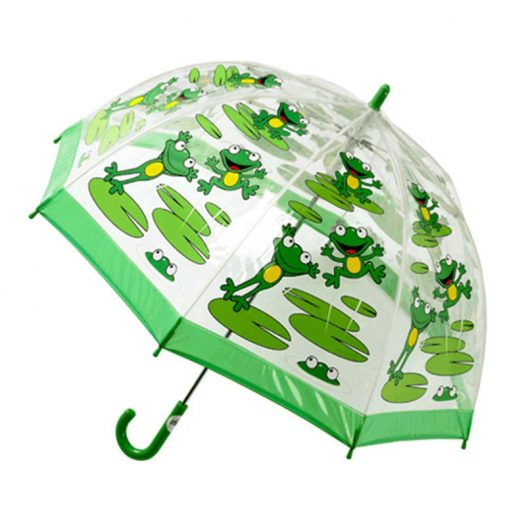 Children's PVC Frog Umbrella