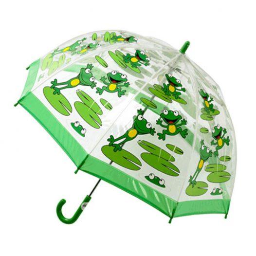 Children's PVC Frog Umbrella