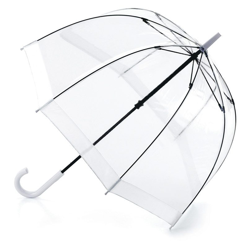 Clear White Umbrella