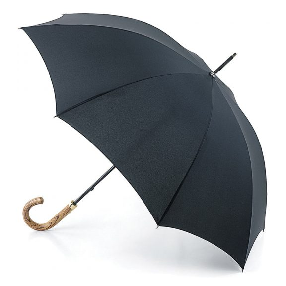 Fulton Commissioner - Gent's Black Walking Umbrella