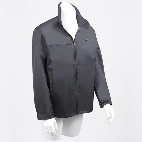Black Rain Jacket / Fulton Rain Jacket