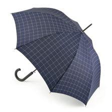 Checked umbrella