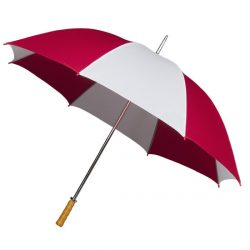 Budget Golf Umbrella - Red and White