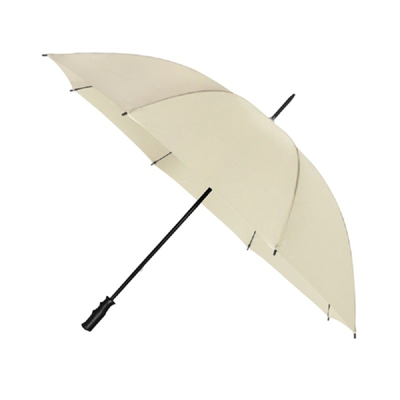 Budget ivory wedding umbrella