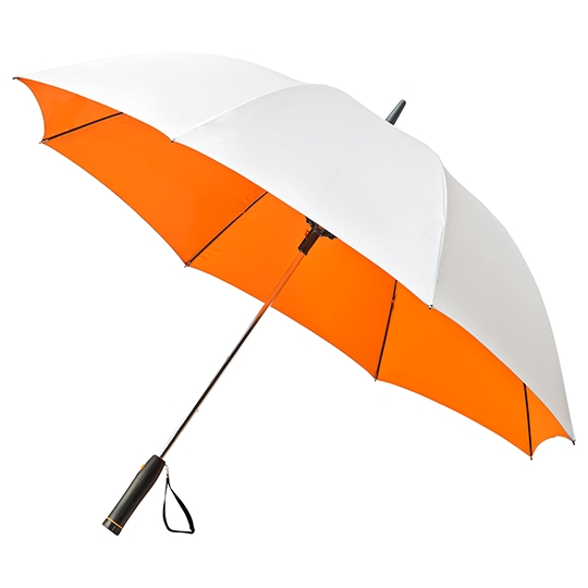 Orange Fan Umbrella