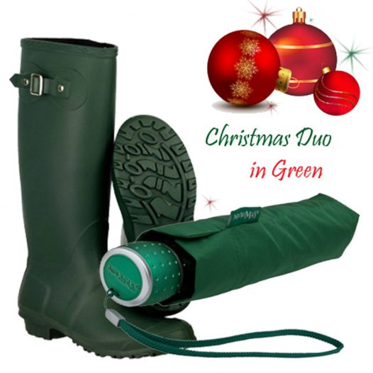 Green Rainwear Gift Set