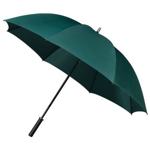 green golf umbrella