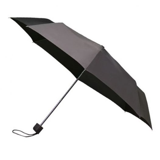 Colourbox Grey Compact Umbrella