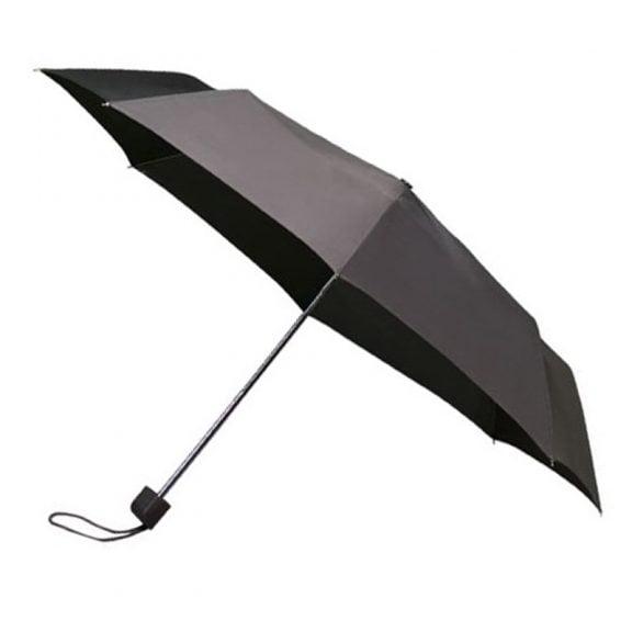 Colourbox Grey Compact Umbrella