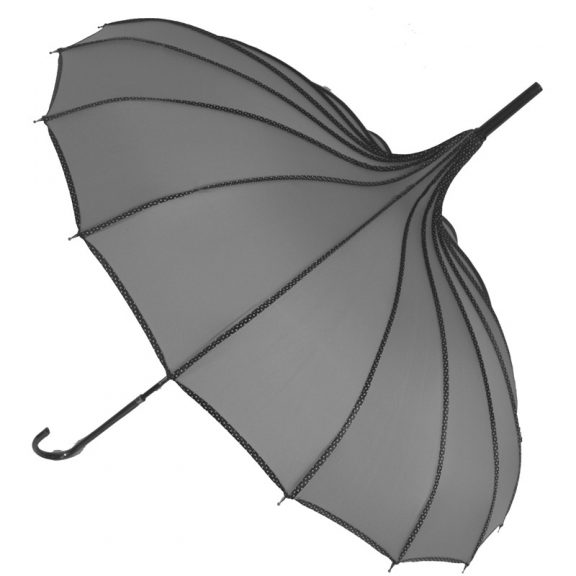 Grey Pagoda Umbrella - Princess