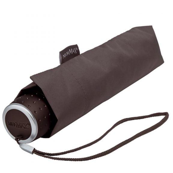 MiniMax - Folding Umbrella - Travel Umbrella - Grey