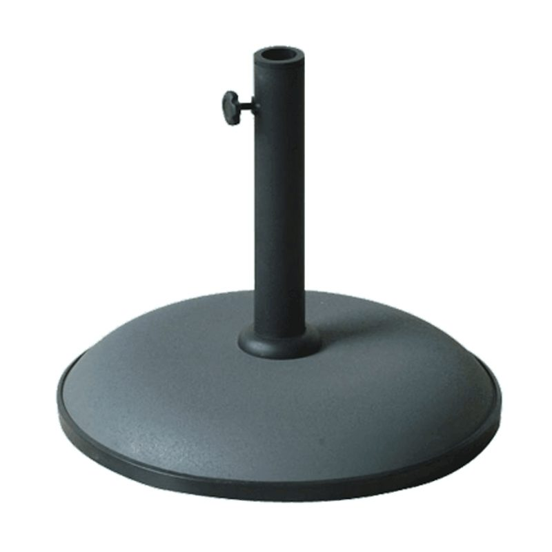 grey parasol base 15kg