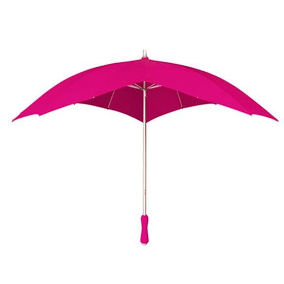 Hot Pink Heart Umbrella