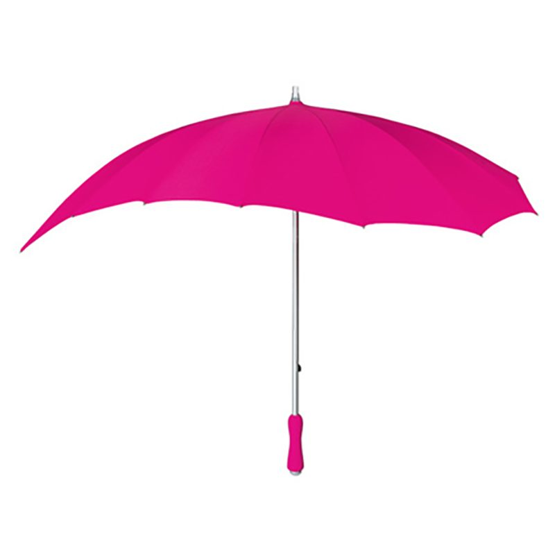 Hot Pink Heart Umbrella