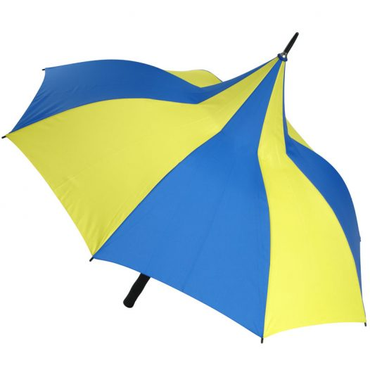 Happy Days Blue and Yellow Umbrella 1
