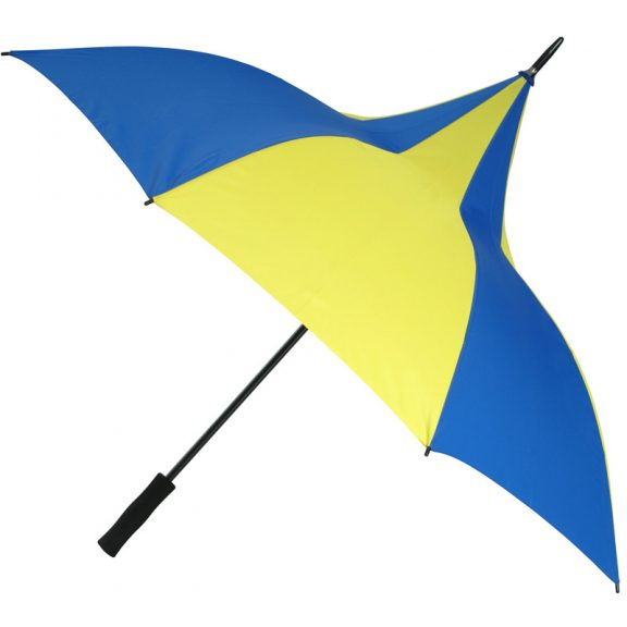 Happy Days Blue and Yellow Umbrella 1