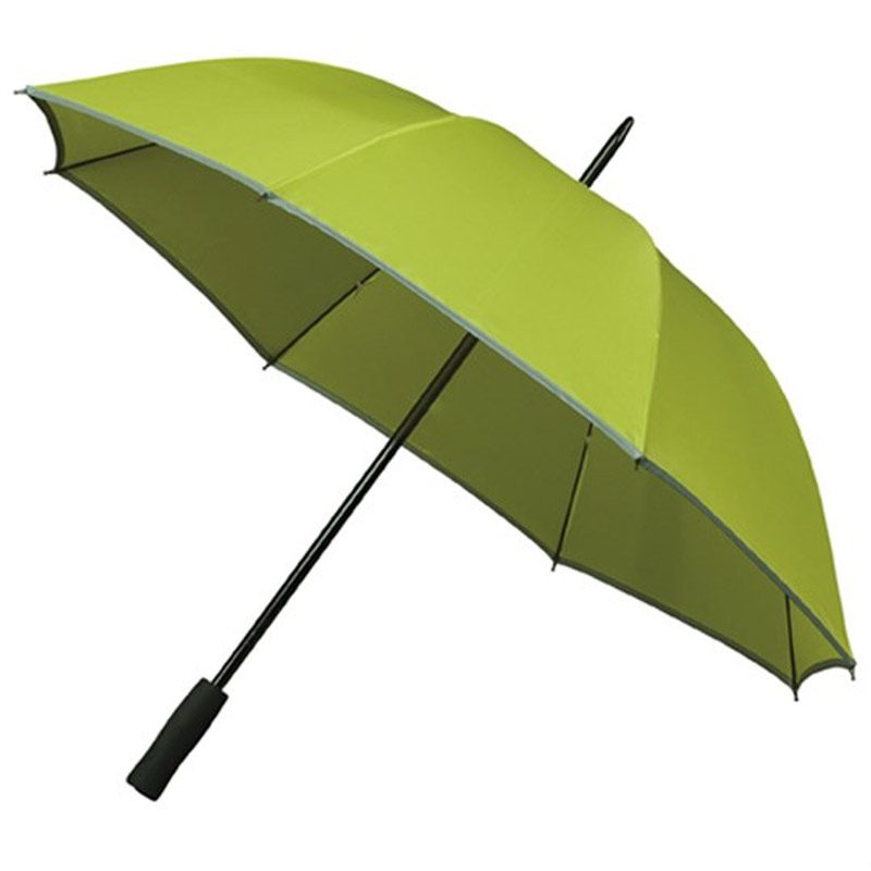 Light Green Hi-Viz Safety Umbrella