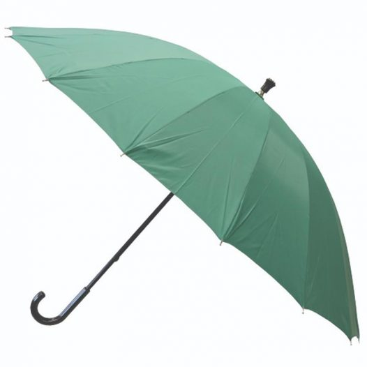 High quality teal walking umbrella