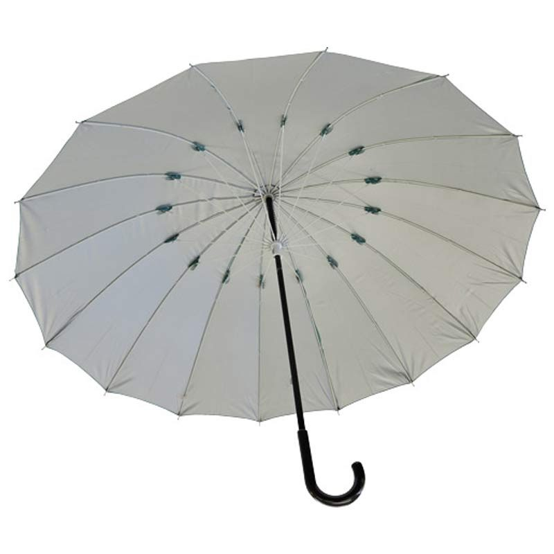 High quality walking umbrella open green