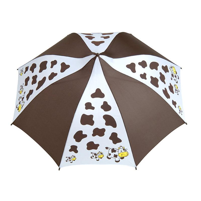 cow print umbrella
