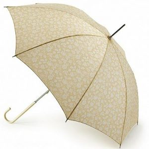 Isabella Walking Umbrella Cream Ivory Wedding Umbrella